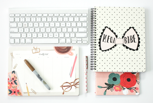 blogger-desk-essentials-notebooks-calendars-to-do-lists